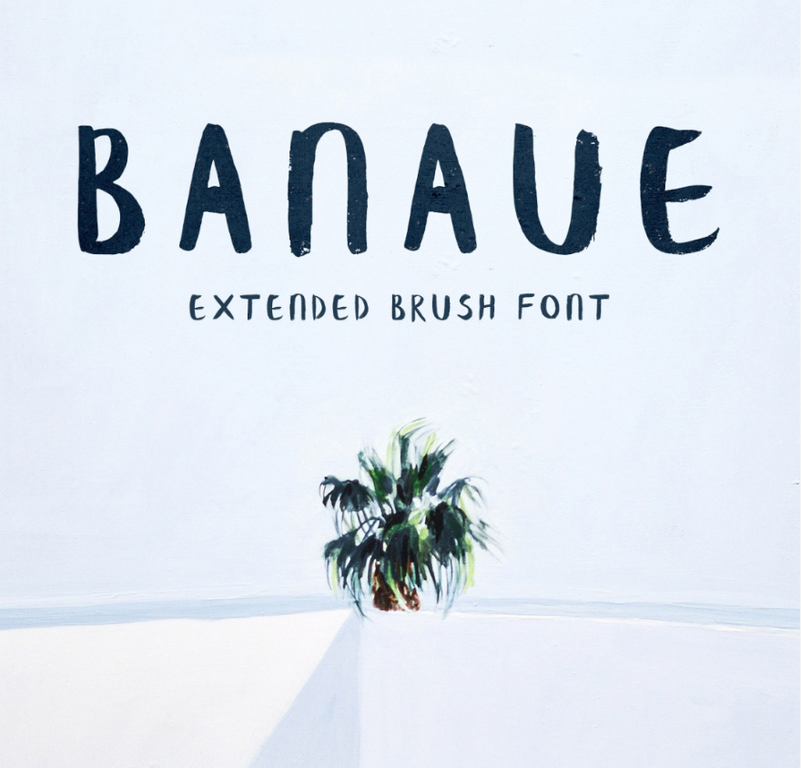 22 Artistic and Hand Painted Fonts to Use on Your Next Design 3