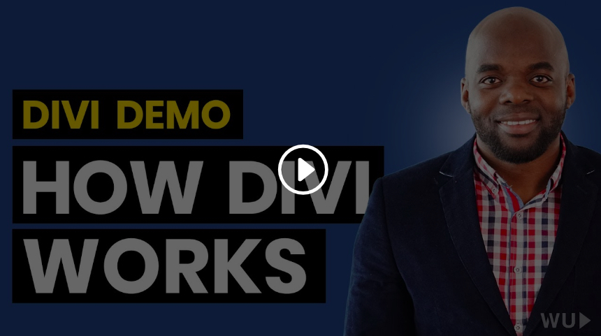 Learn DIVI in 30 Minutes